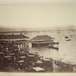 14. (Photographie). ASIE. Ensemble de 26 grandes photographies albuminées (35,5 x 25,5 cm) montées sur feuilles légendées à l'époque, non signées et datant de 1890/1900. Détail : Singapour (11) – Canton (5) – Yokohama (6) – Saïgon (2)- Penang (1) – Nagasaki (1). Bonne condition. 200/300